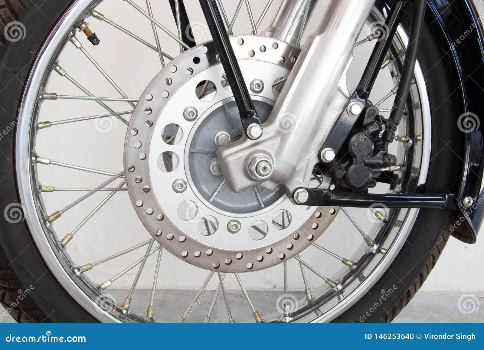 De Rem van de fietsschijf