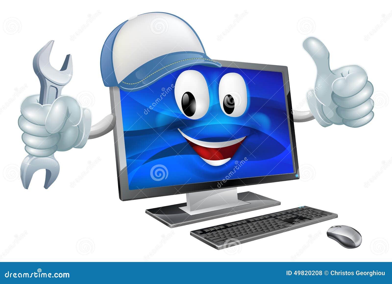 De reparatieconcept van de computer