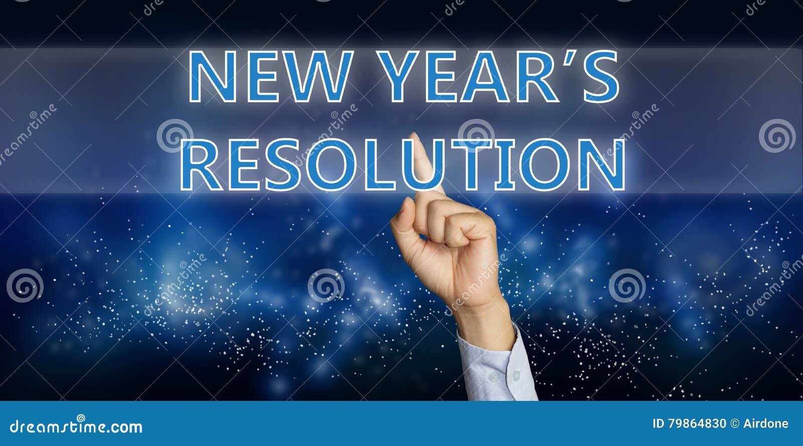 De Resolutie van nieuwjaren