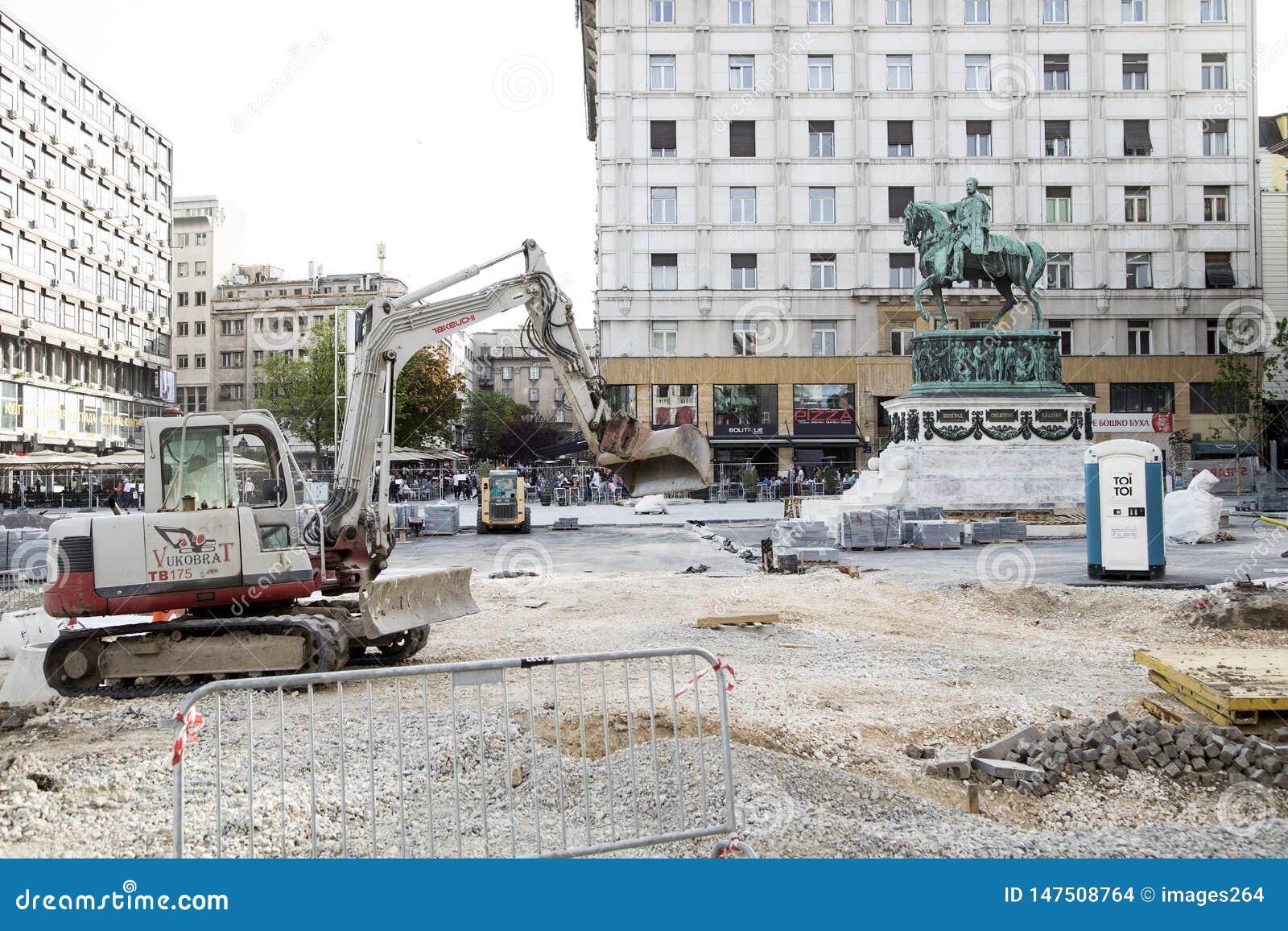 De restauratie van Belgrado
