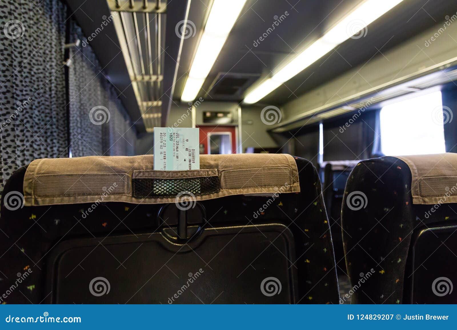 De retour du siège dans le train