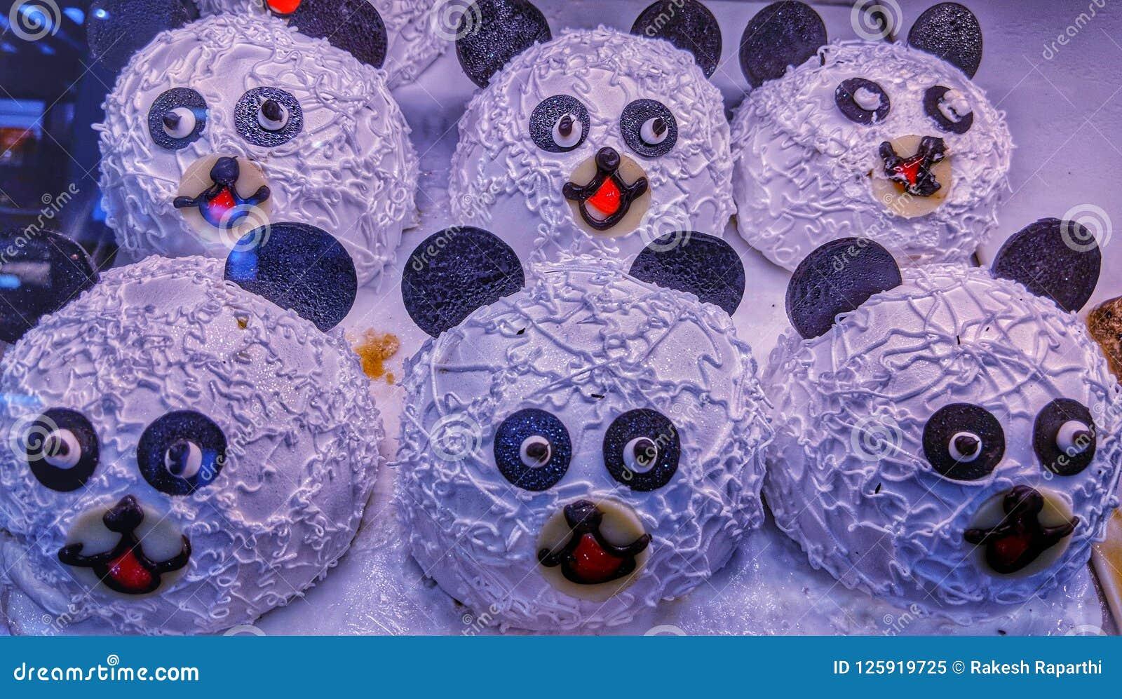 De reuzeplakken van de pandacake