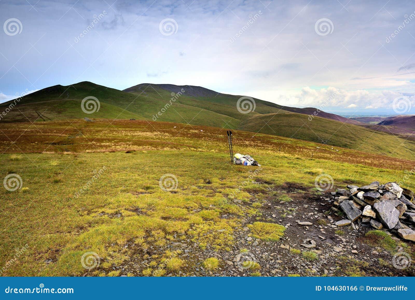 Download De richel van Skiddaw stock foto. Afbeelding bestaande uit polen - 104630166