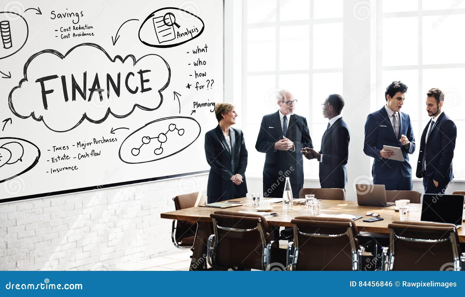 De Rijkdom van financiëninkomens investeert Activaconcept