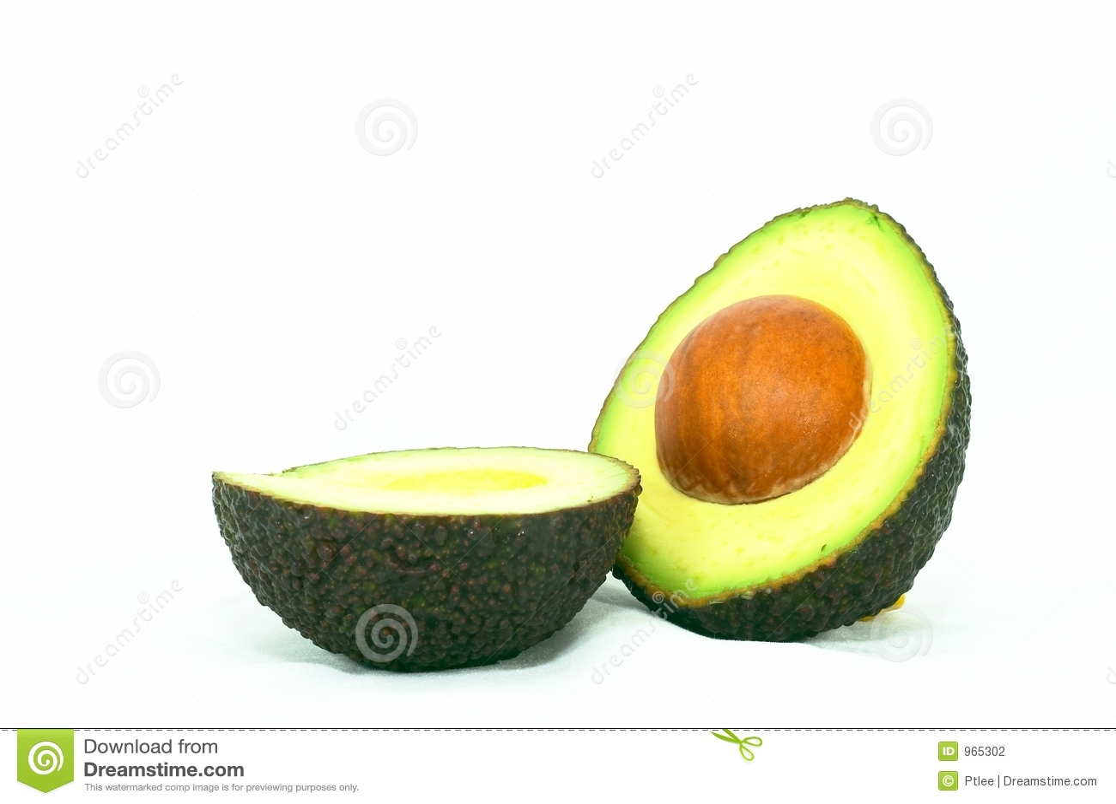 De rijpe Avocado van de besnoeiing