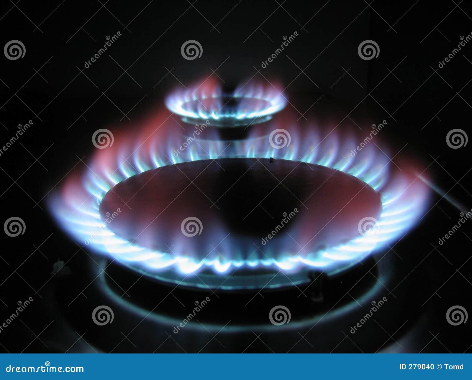De ring van het gas