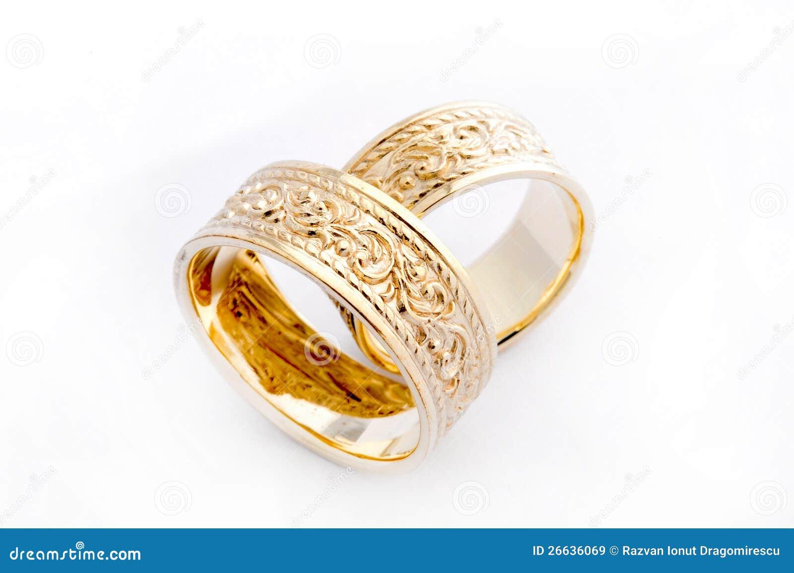 De Ringen van de gouden bruiloft
