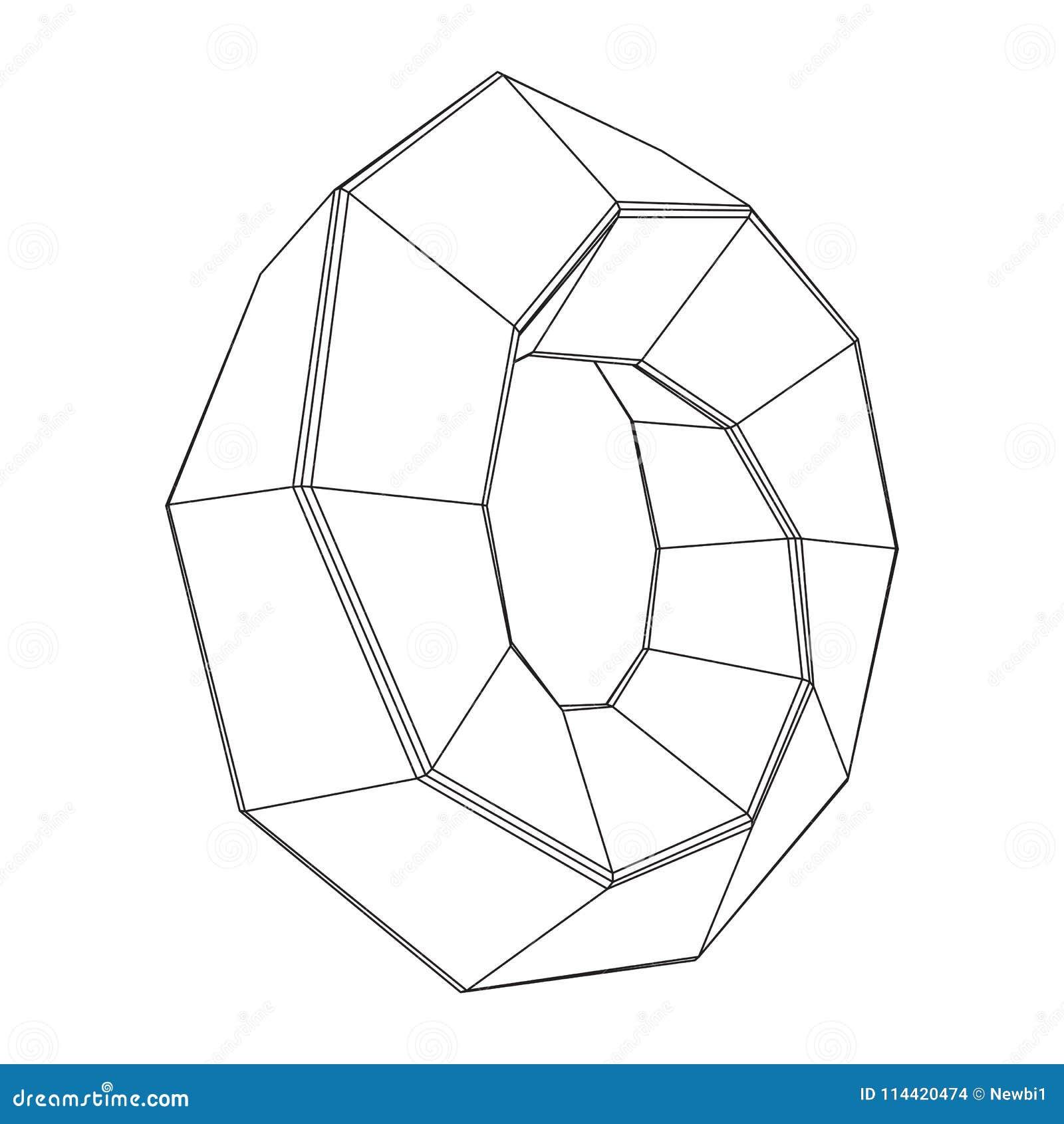 De rings heilige meetkunde van de Mobiusstrook