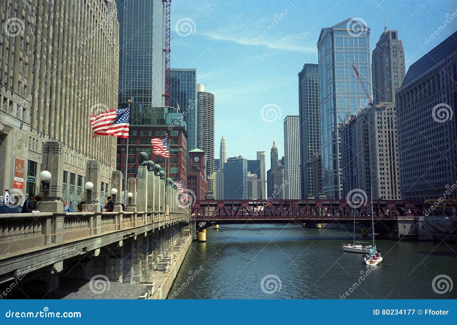 De Rivier en de Aantrekkelijkheden van Chicago