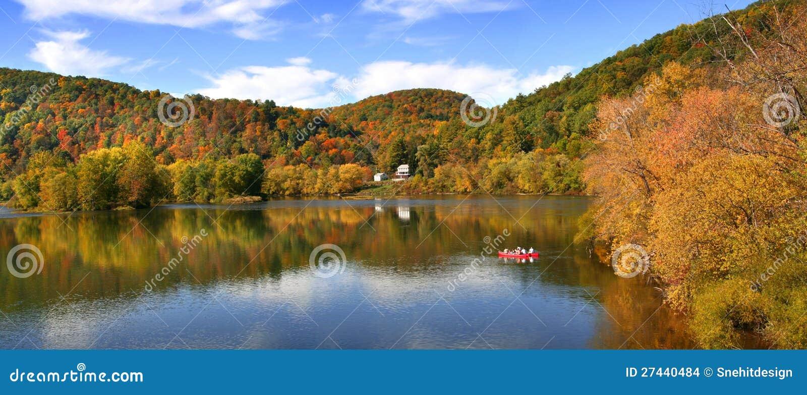 De rivier van Allegheny