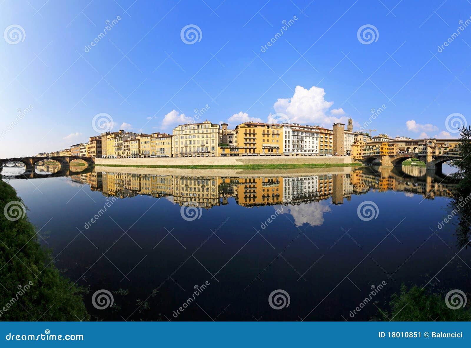 De rivier van Arno
