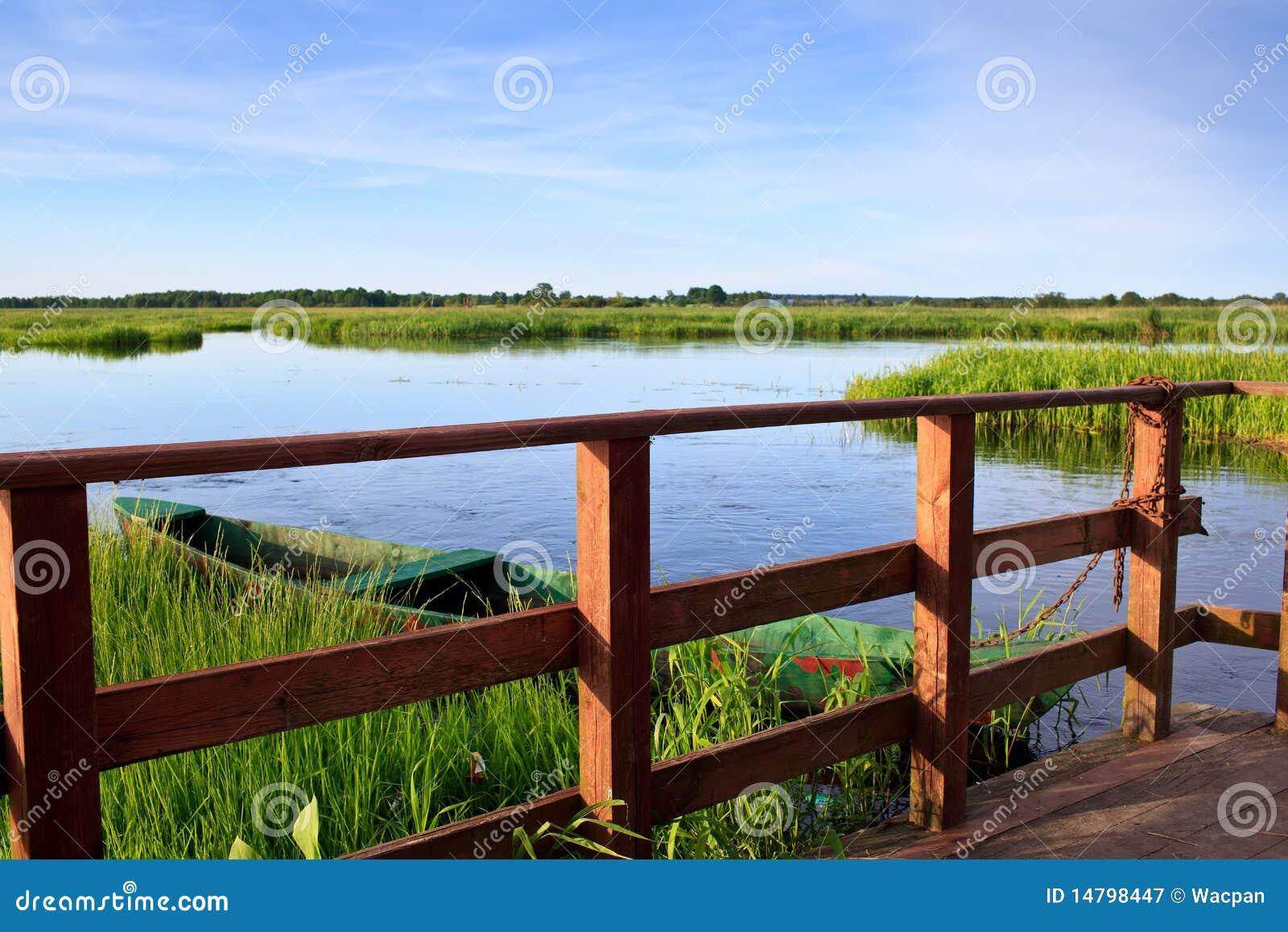 De rivier van Narew