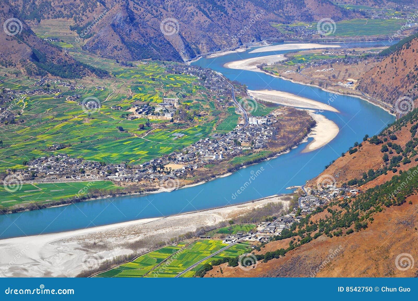 De Rivier van Yangtze