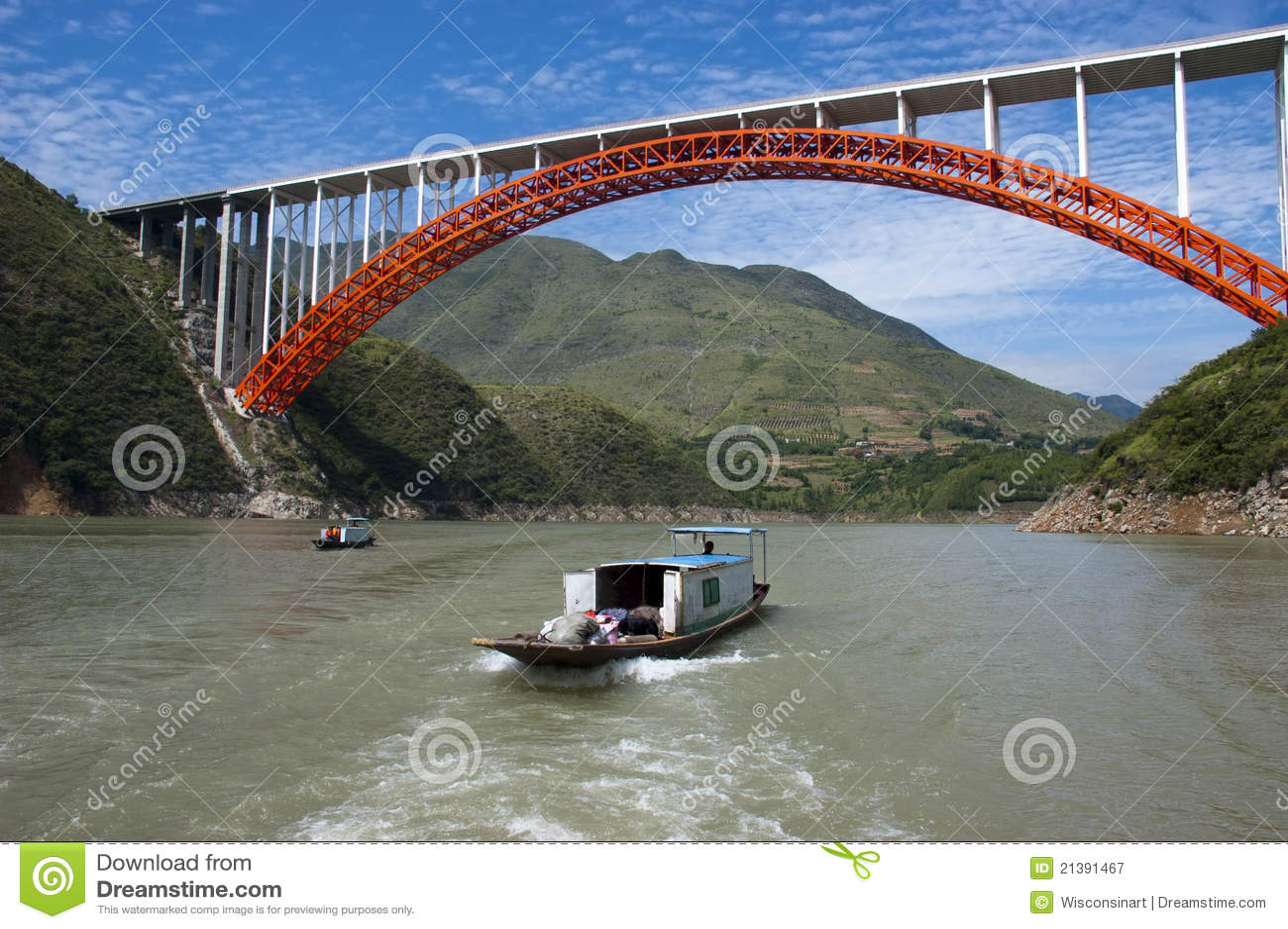 De Rivier van Yangtze van de Boot van de Taxi van het Water van Peapod, de Reis van China
