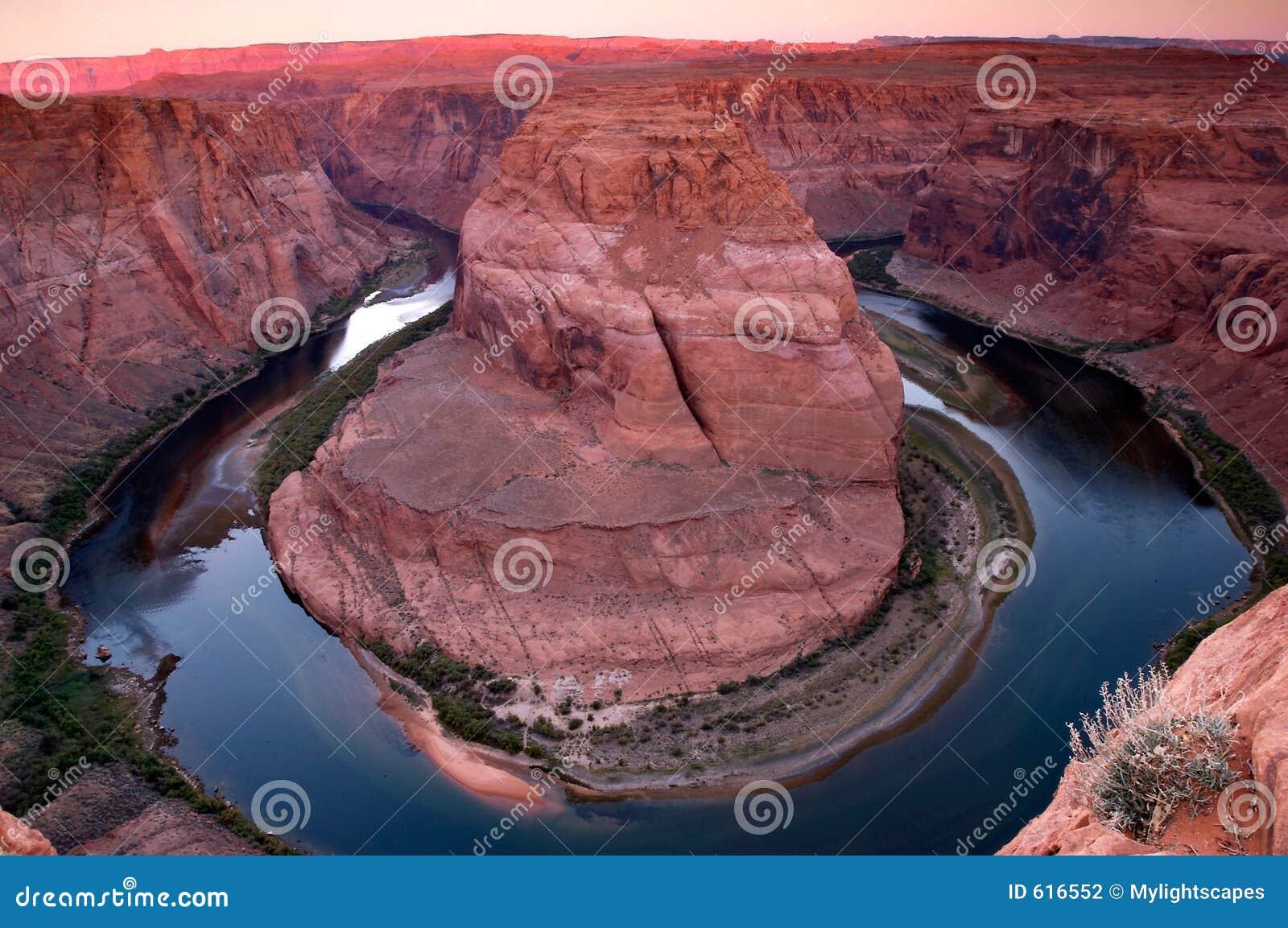De rivierkromming van Colorado