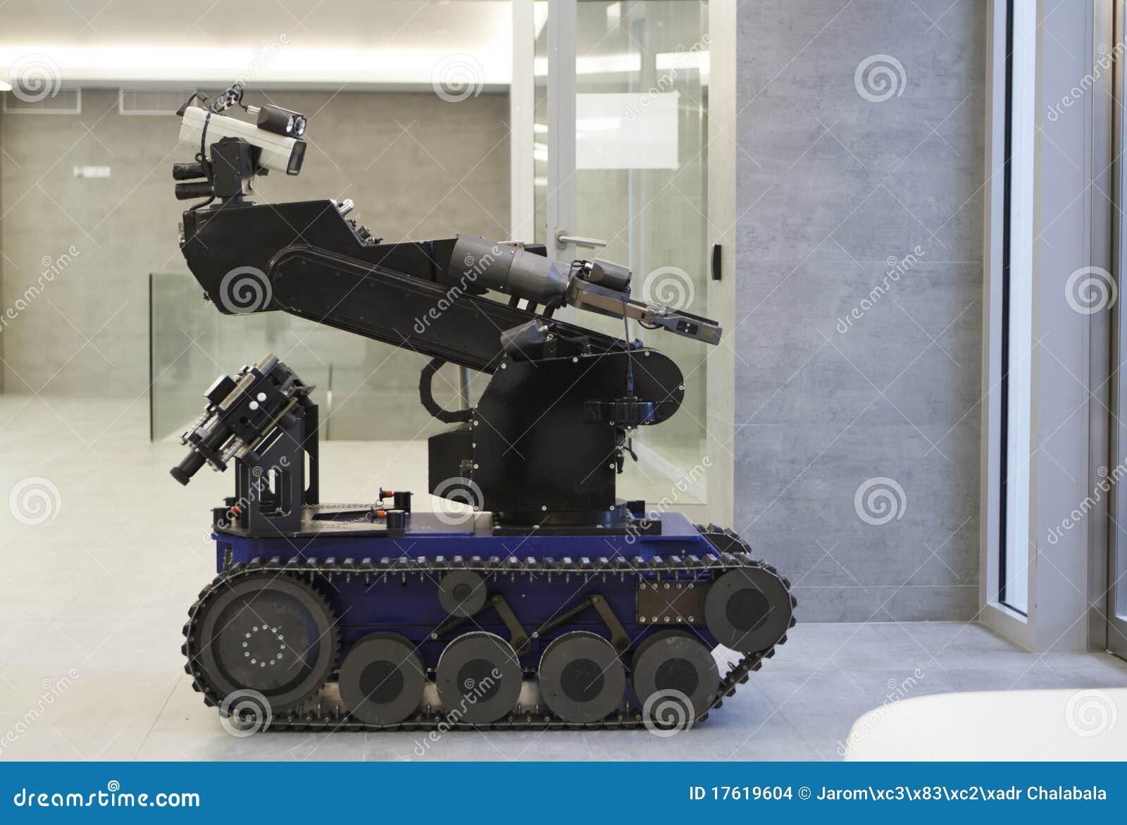 De robot van de politie