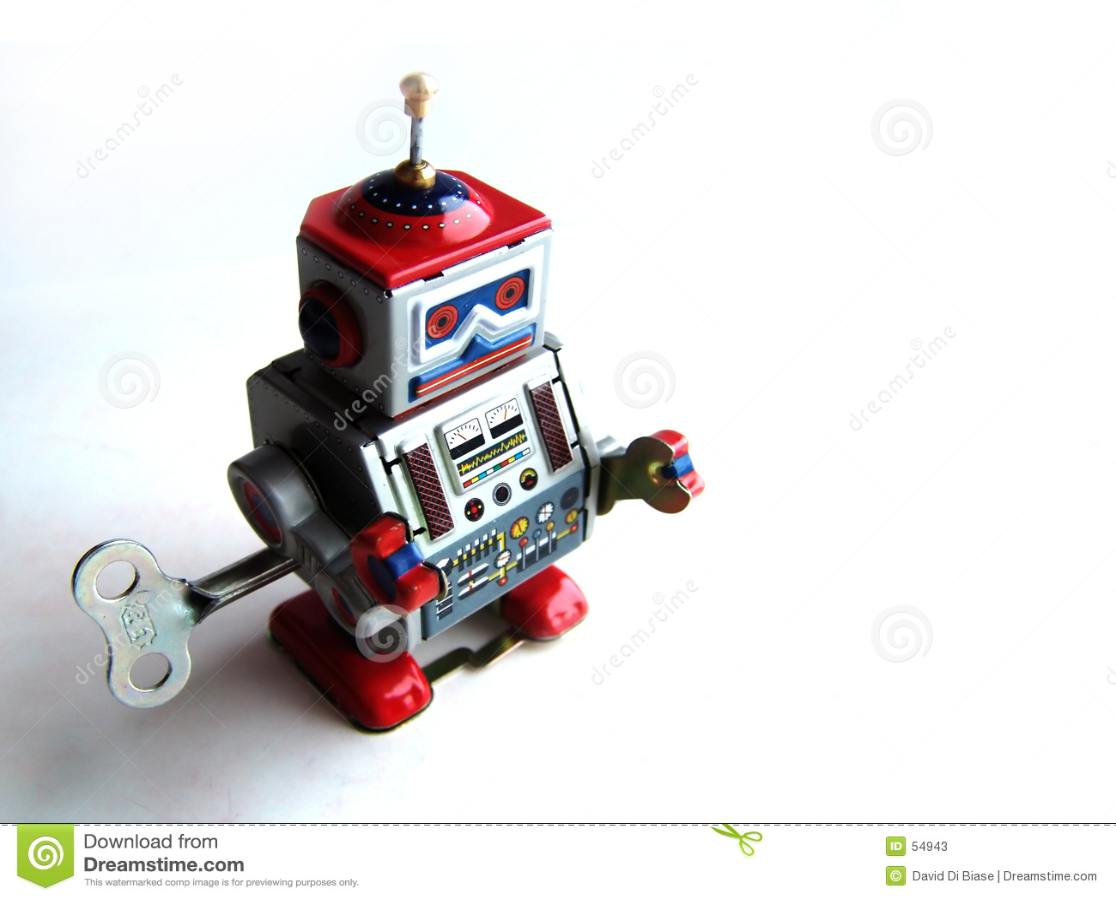 De robot van Sammy