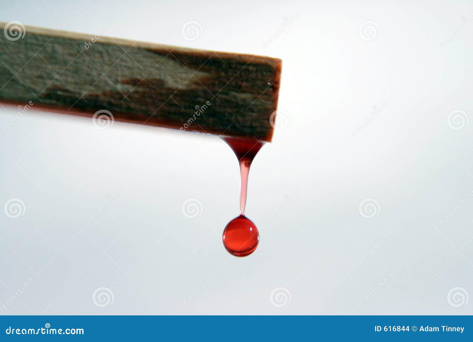 De rode Daling van het Water van Hout
