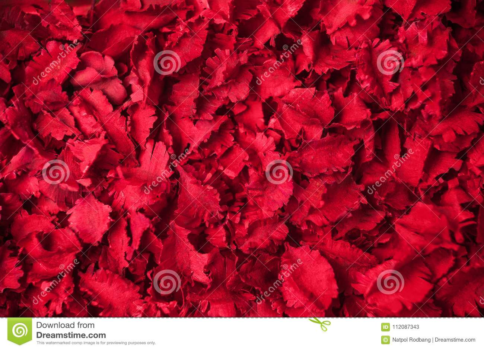 De rode droge achtergrond van het bloemen aromatherapy welriekend mengsel van gedroogde bloemen en kruiden