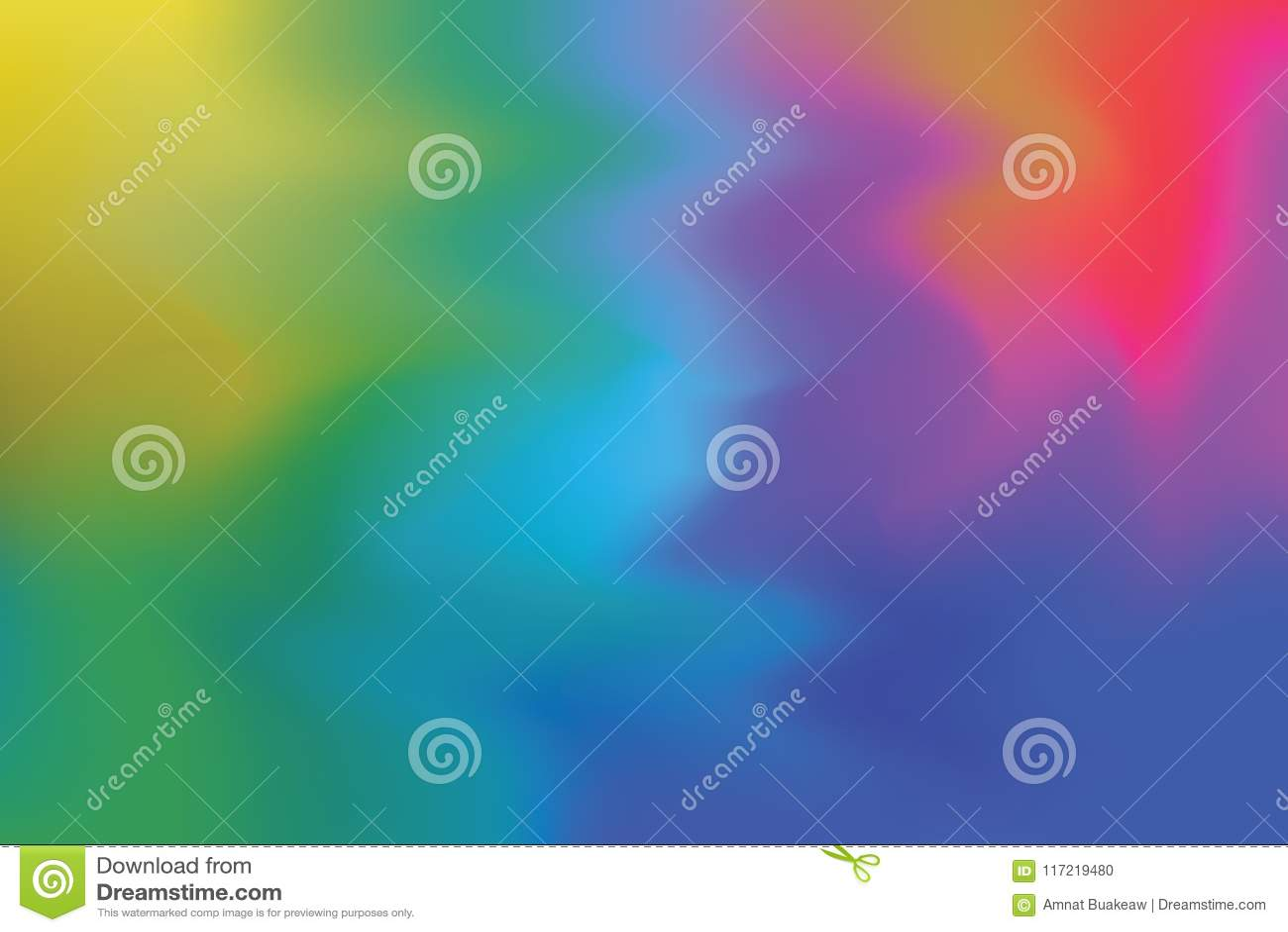 De rode groene gele blauwe zachte kleur mengde abstract, kleurrijk de kunstbehang van de achtergrond het schilderen kunstpastelkl