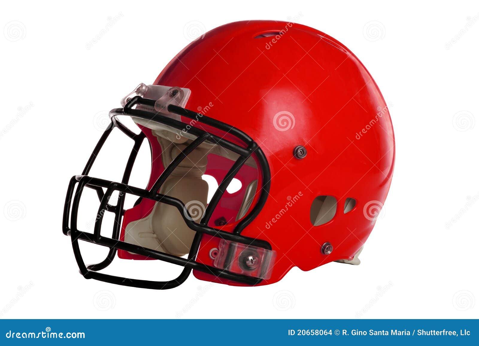 De rode Helm van de Voetbal