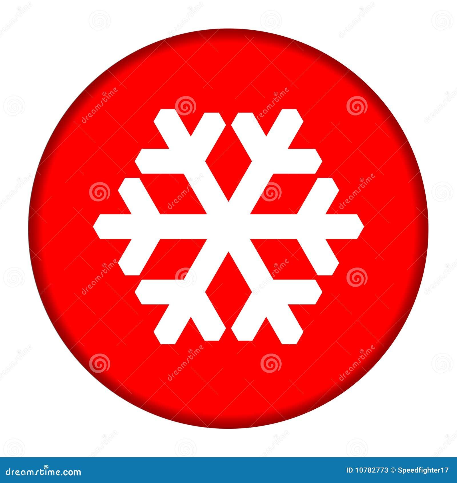 De rode knoop van de Sneeuwvlok
