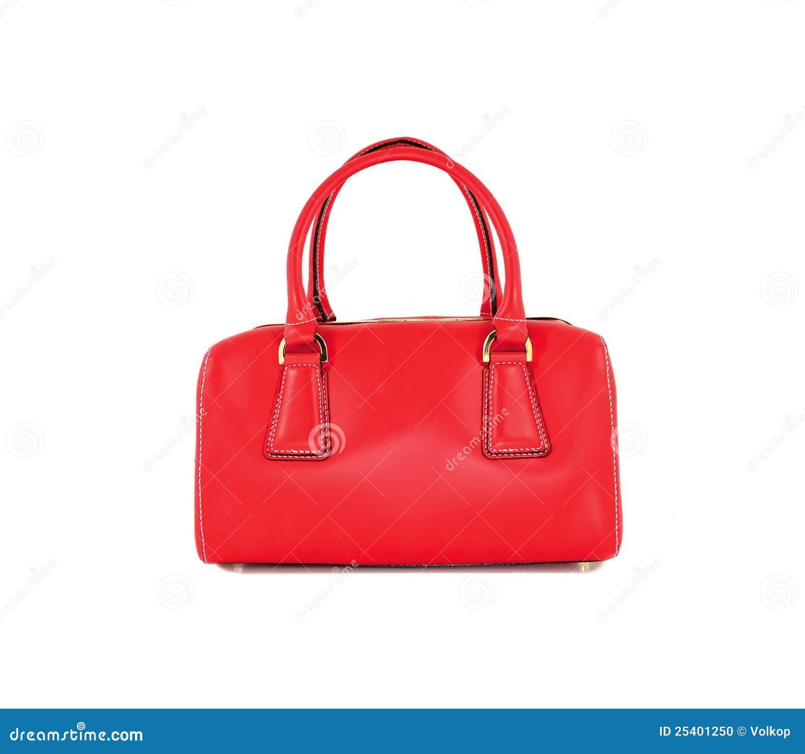 De rode vrouwen doen geïsoleerd in zakken