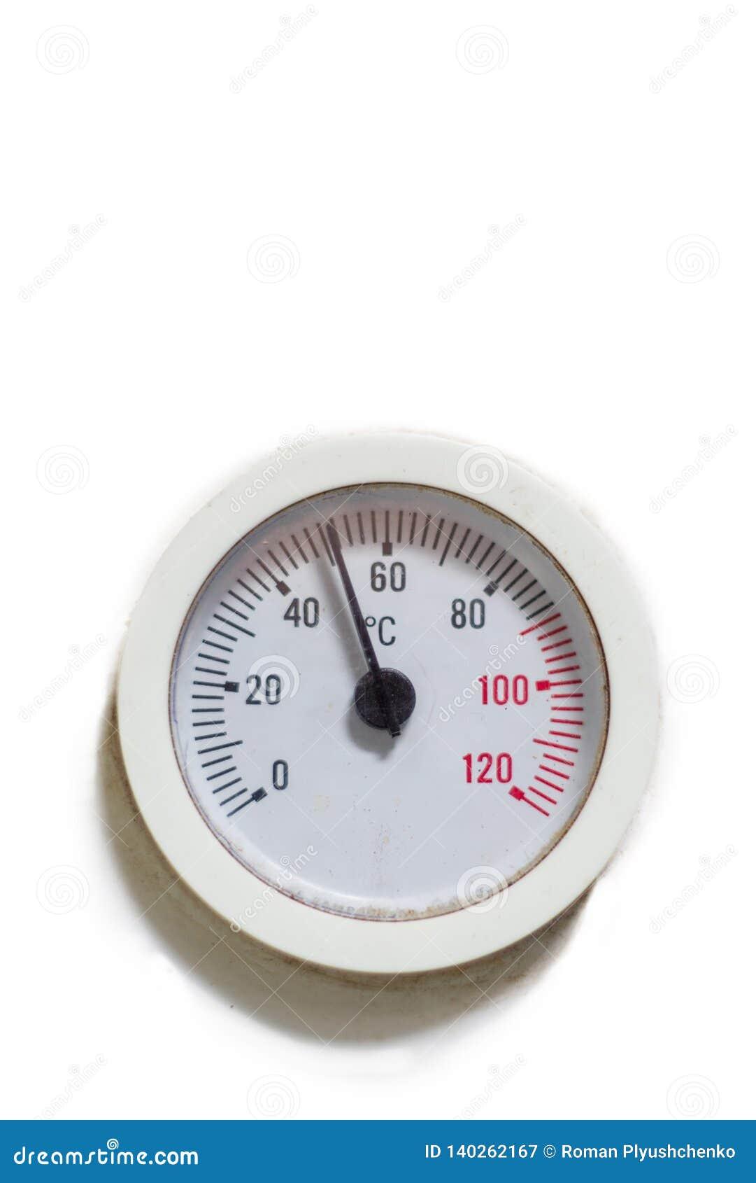 De ronde sensor van de vormtemperatuur De ruimte van het exemplaar