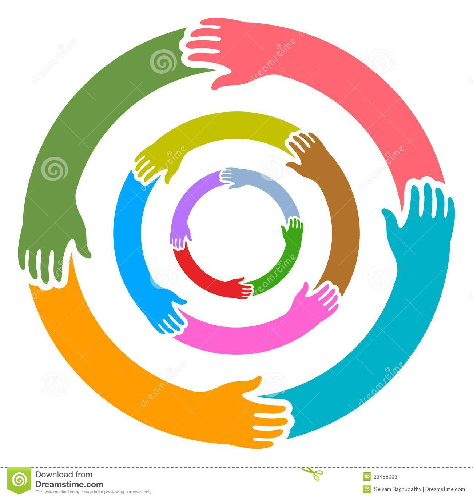 De ronde van handen