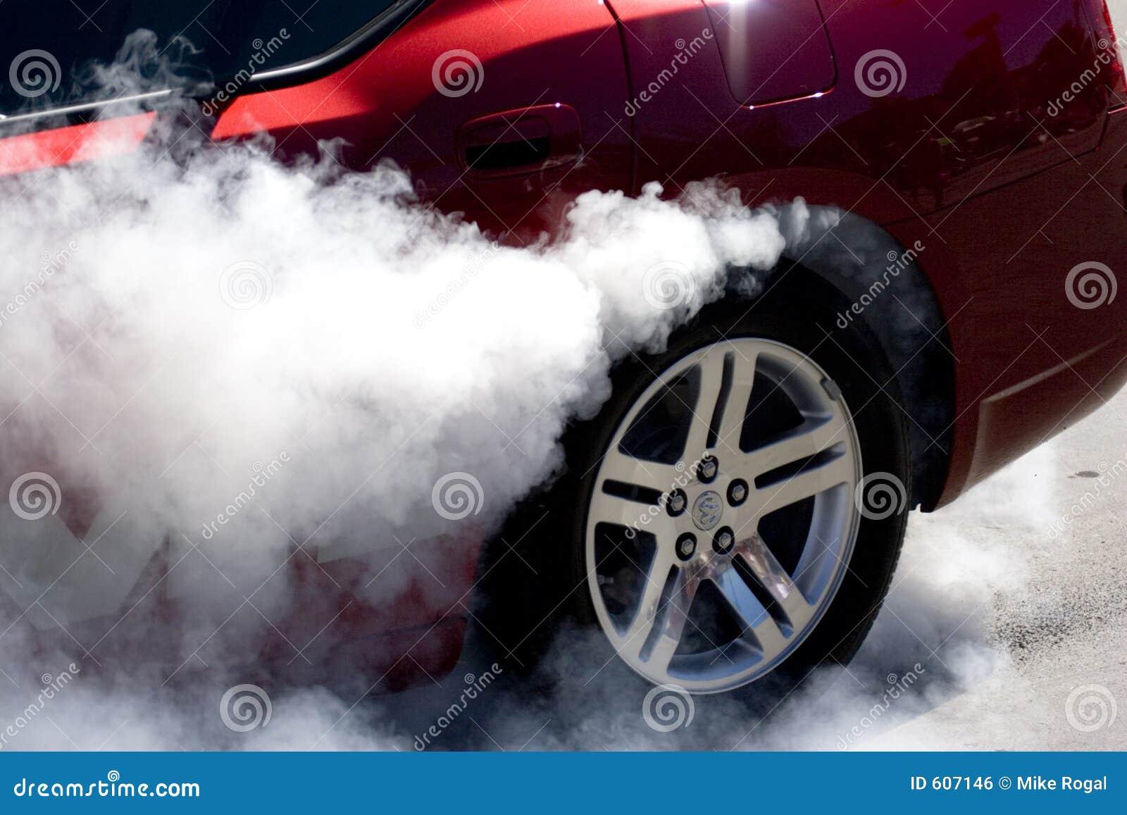 De rook toont