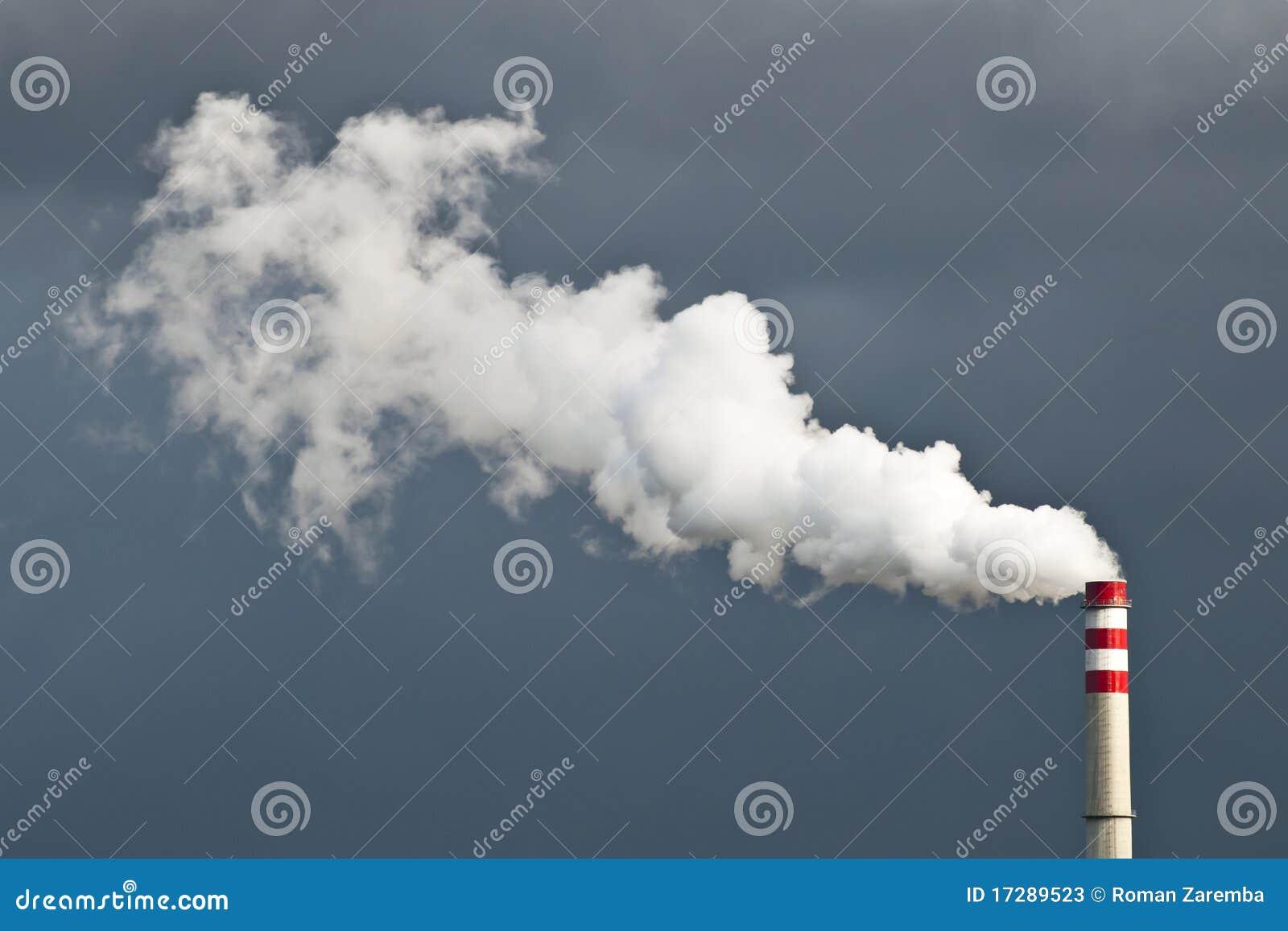 De Rook van de schoorsteen