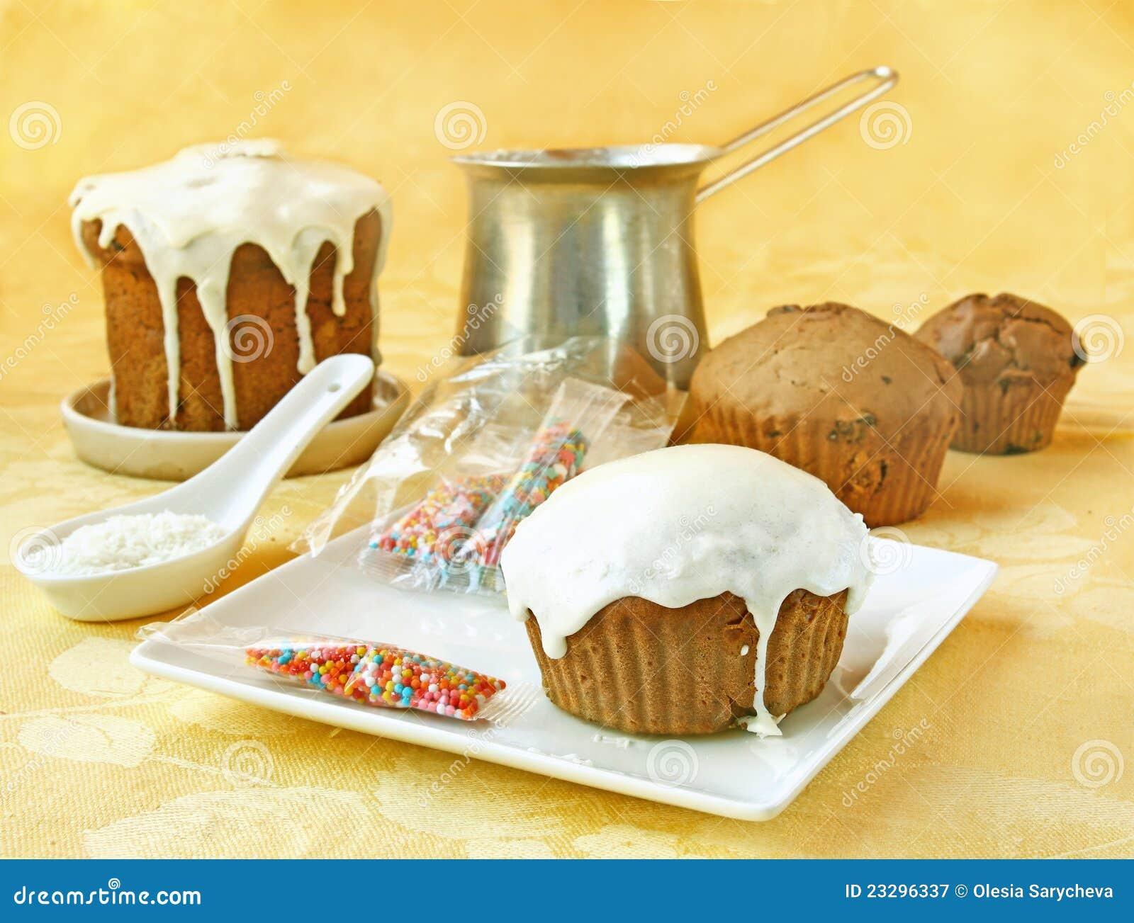 De room en de kokosnoten het scheren van de decoratie cupcake stock afbeelding afbeelding - Decoratie van de kamers van de meiden ...