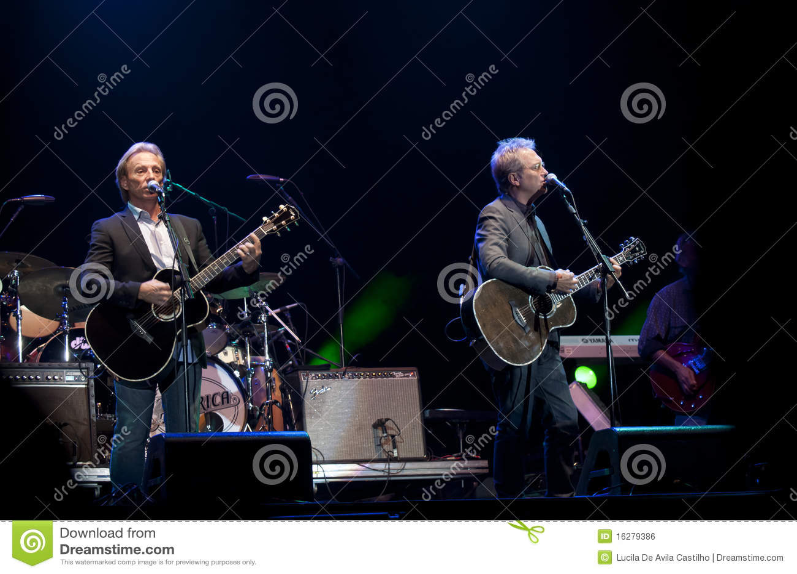 De Rots van de Band van Amerika toont