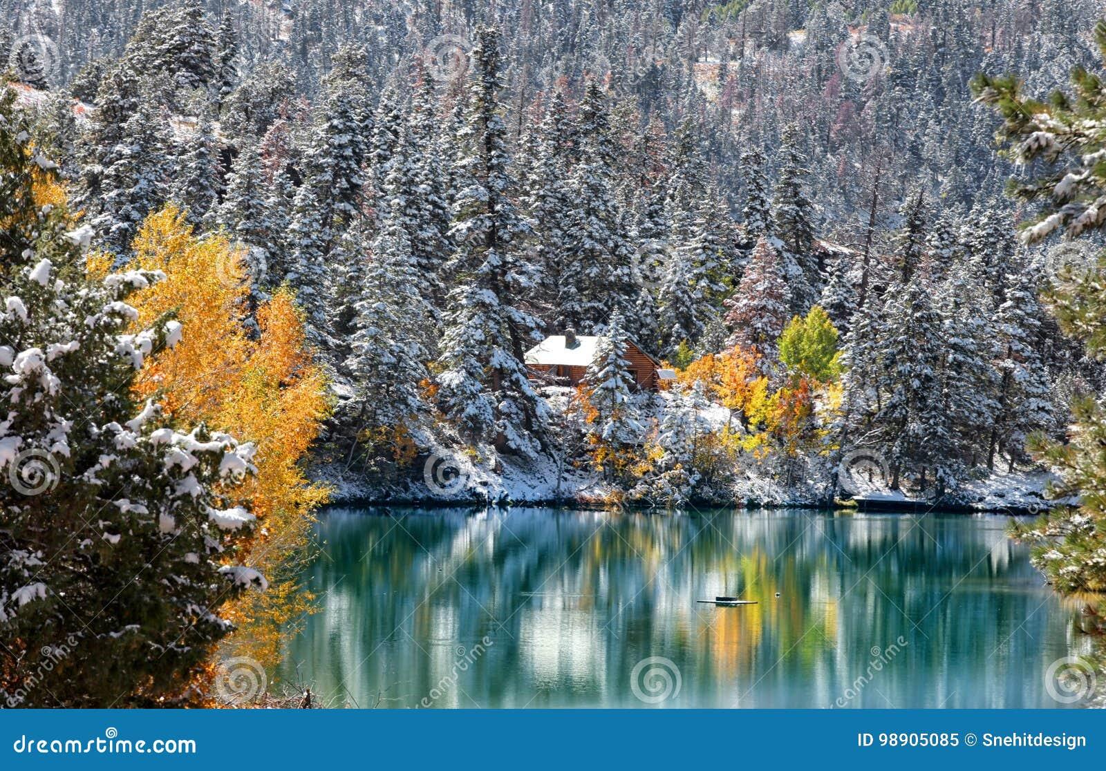 De Rotsachtige Bergen van Colorado