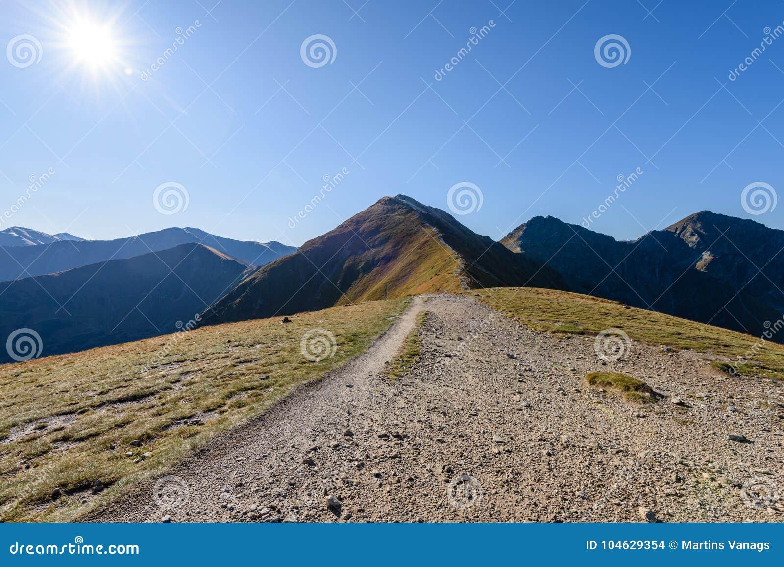 Download De Rotsachtige Mening Van Het Berg Piekgebied In Slowakije Stock Foto - Afbeelding bestaande uit schoonheid, ecologisch: 104629354
