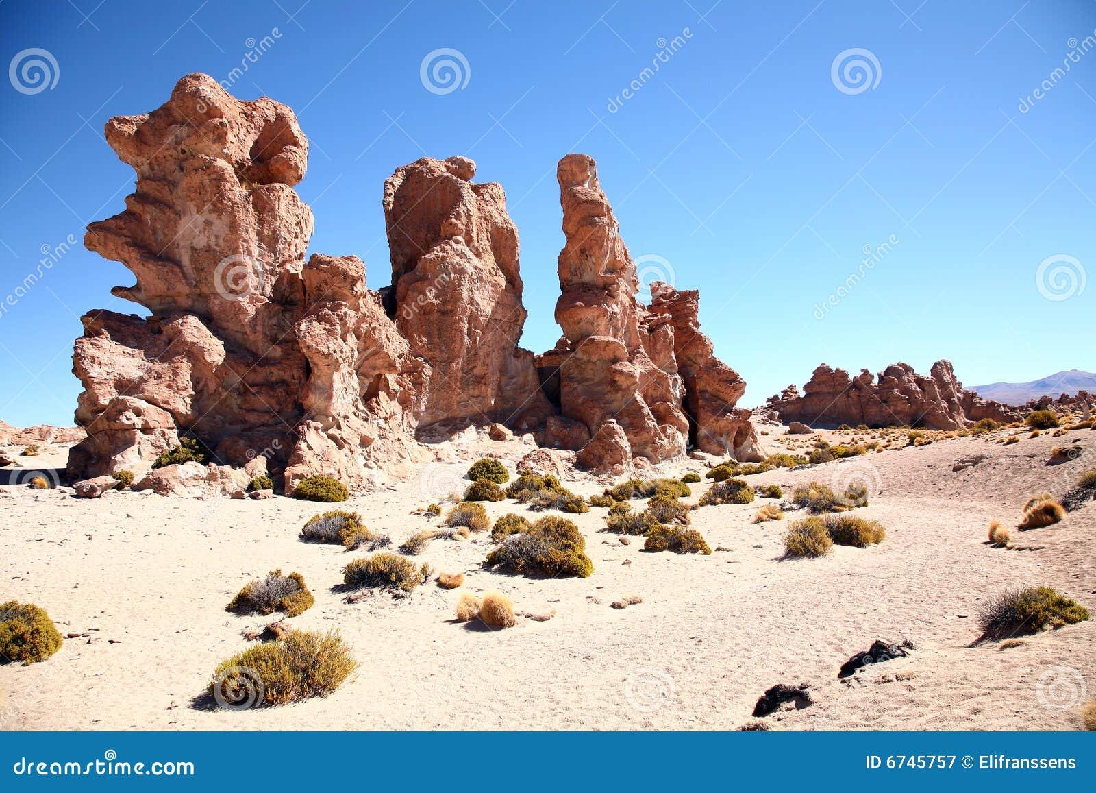 De Rotsen van de woestijn