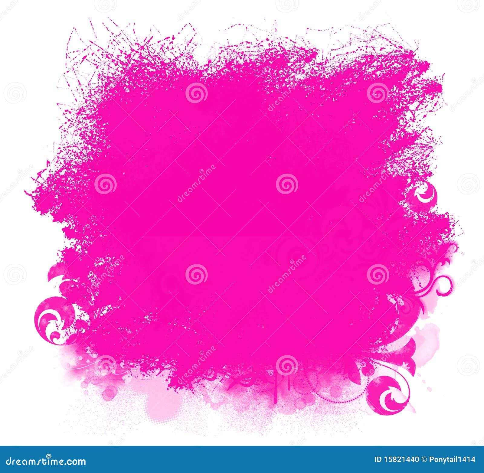 De roze achtergrond van de vlek van de verf grunge stock illustratie afbeelding 15821440 - Hoe roze verf ...