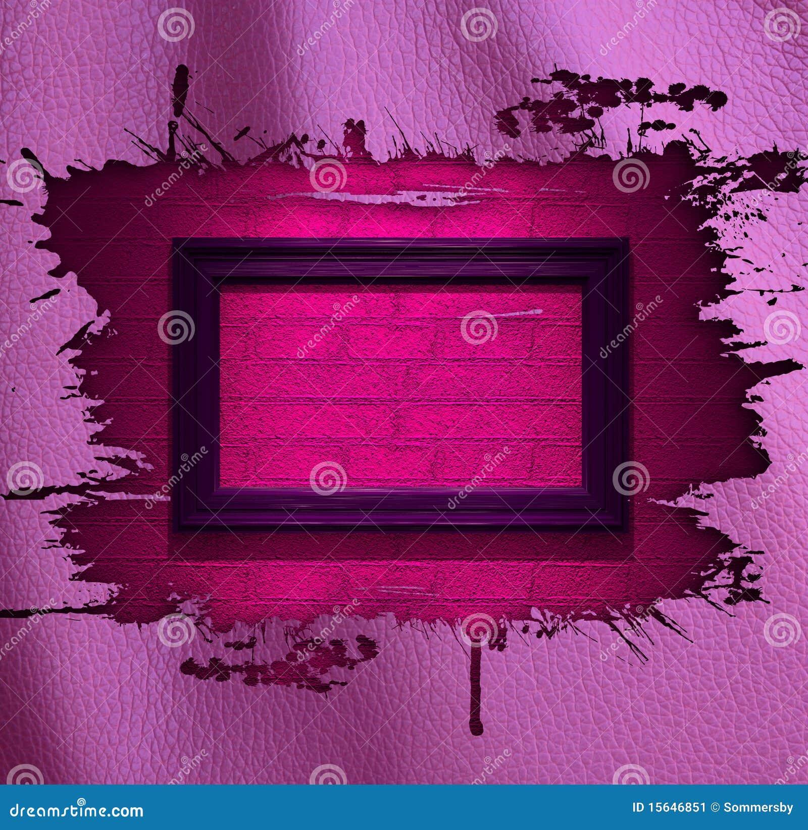 De roze achtergrond van het aantrekkingskrachtleer