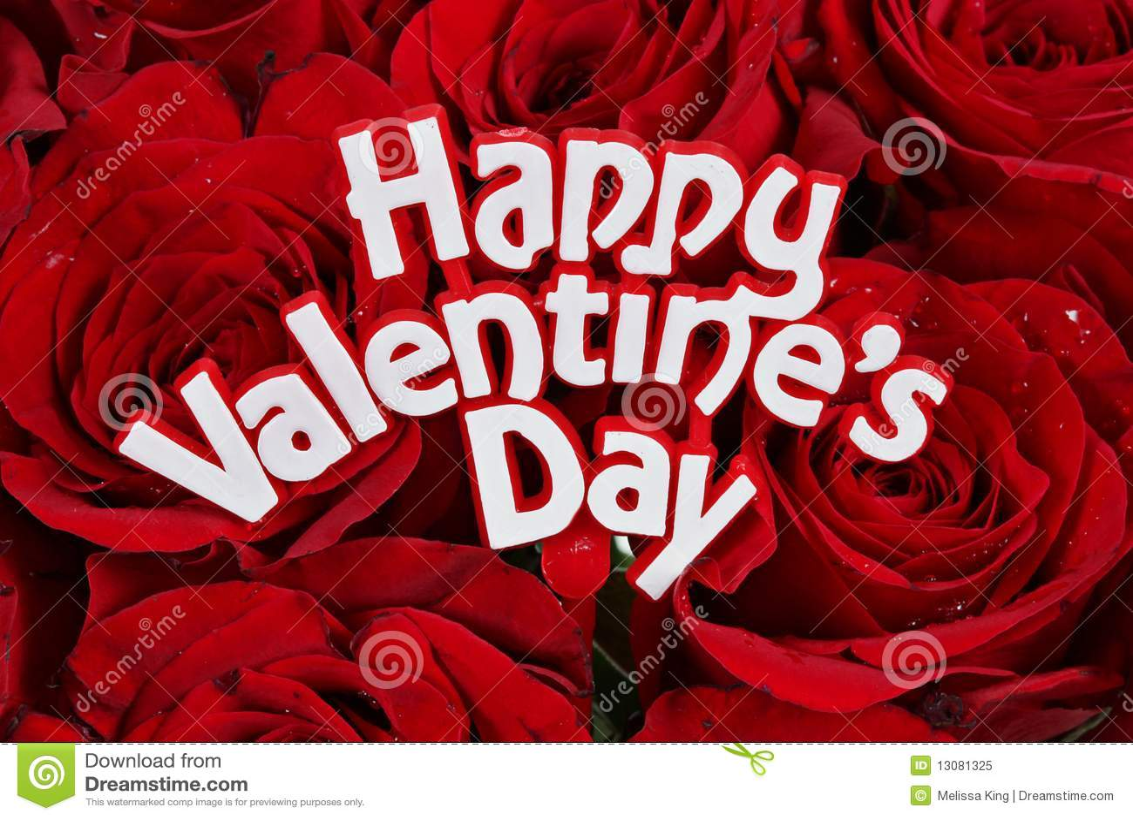 De Rozen van de Dag van valentijnskaarten