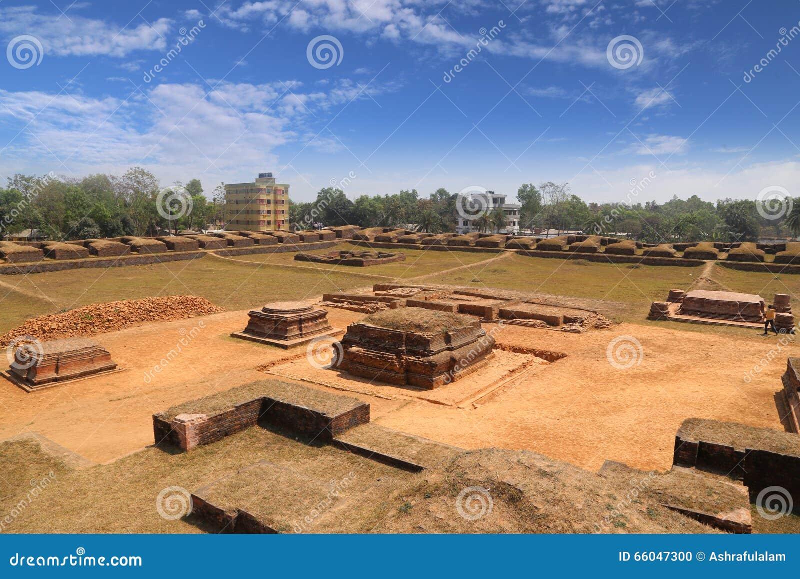 De ruïne van Salbanvihara