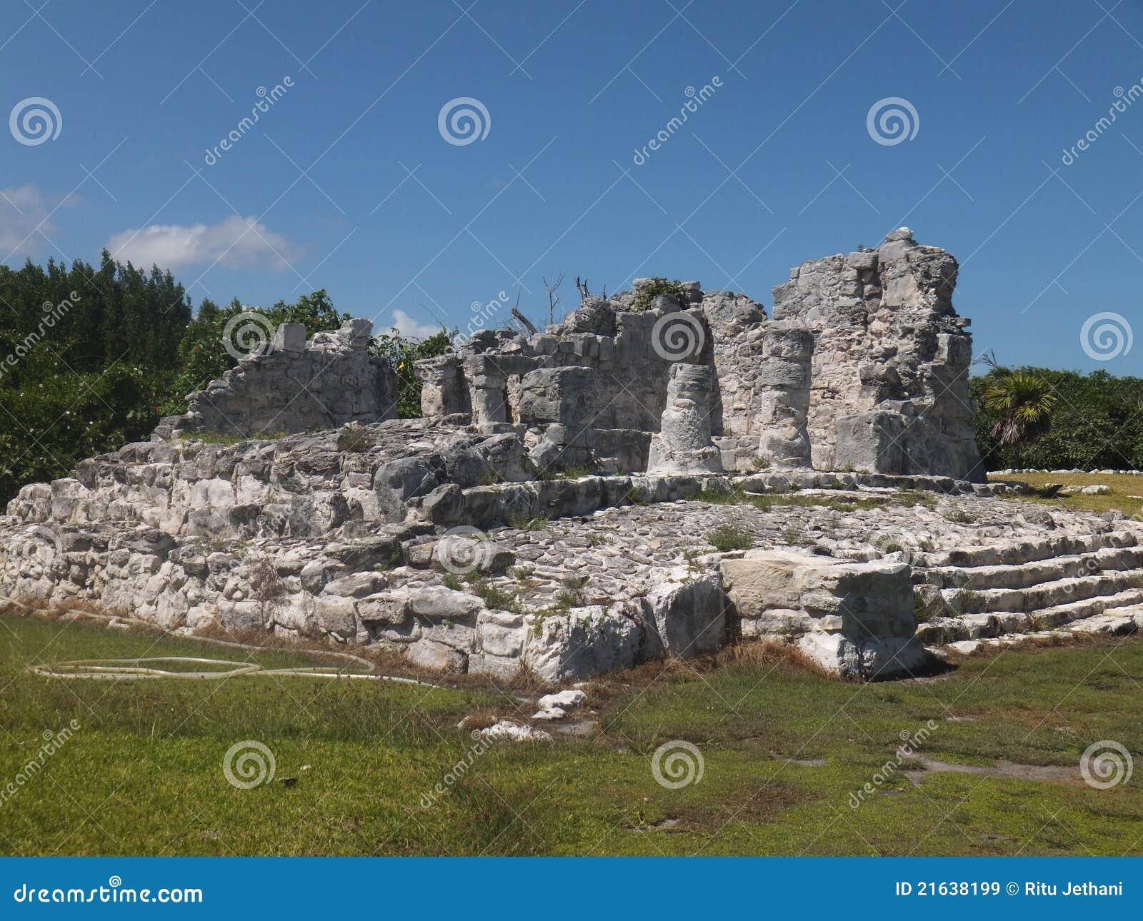 De Ruïnes van Gr Rey in Mexico
