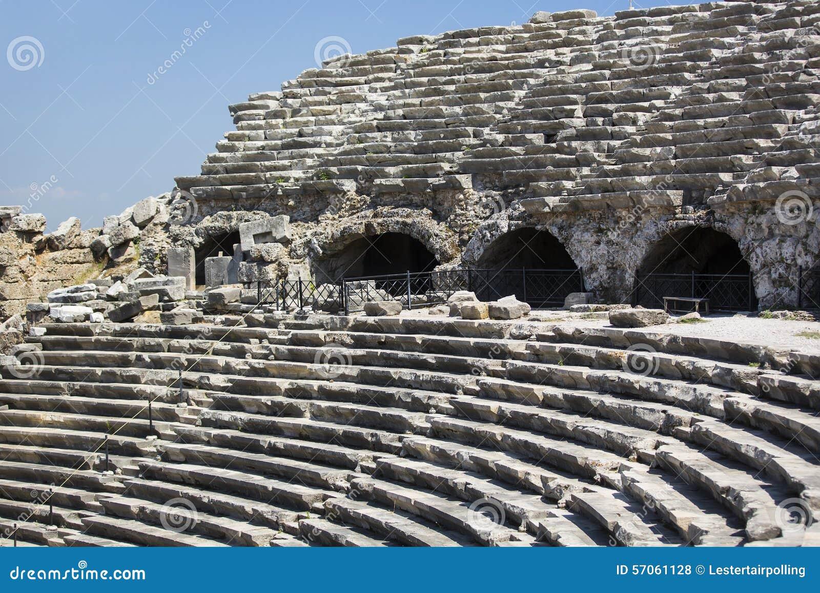 De ruïnes van oude Kant