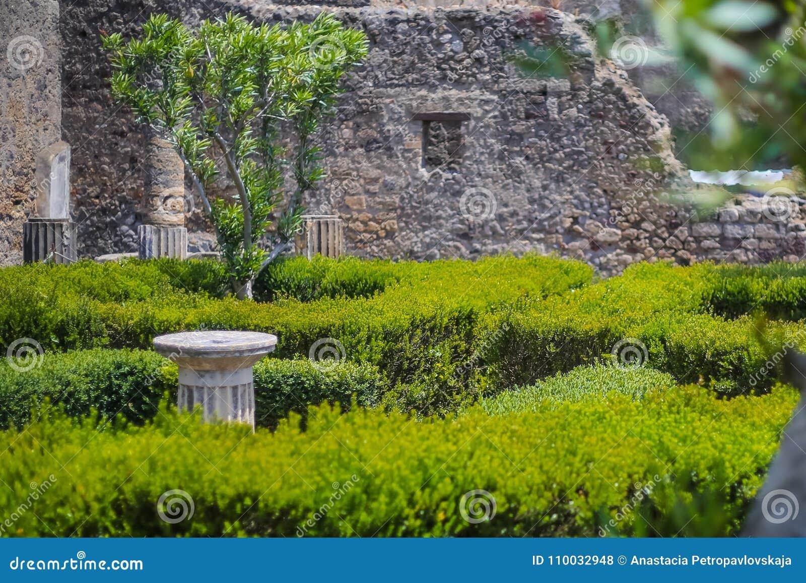 De ruïnes van Pompei
