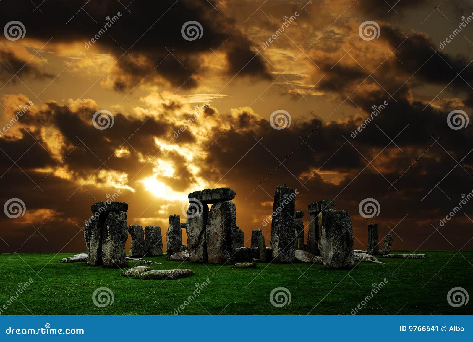 De ruïnes van Stonehenge