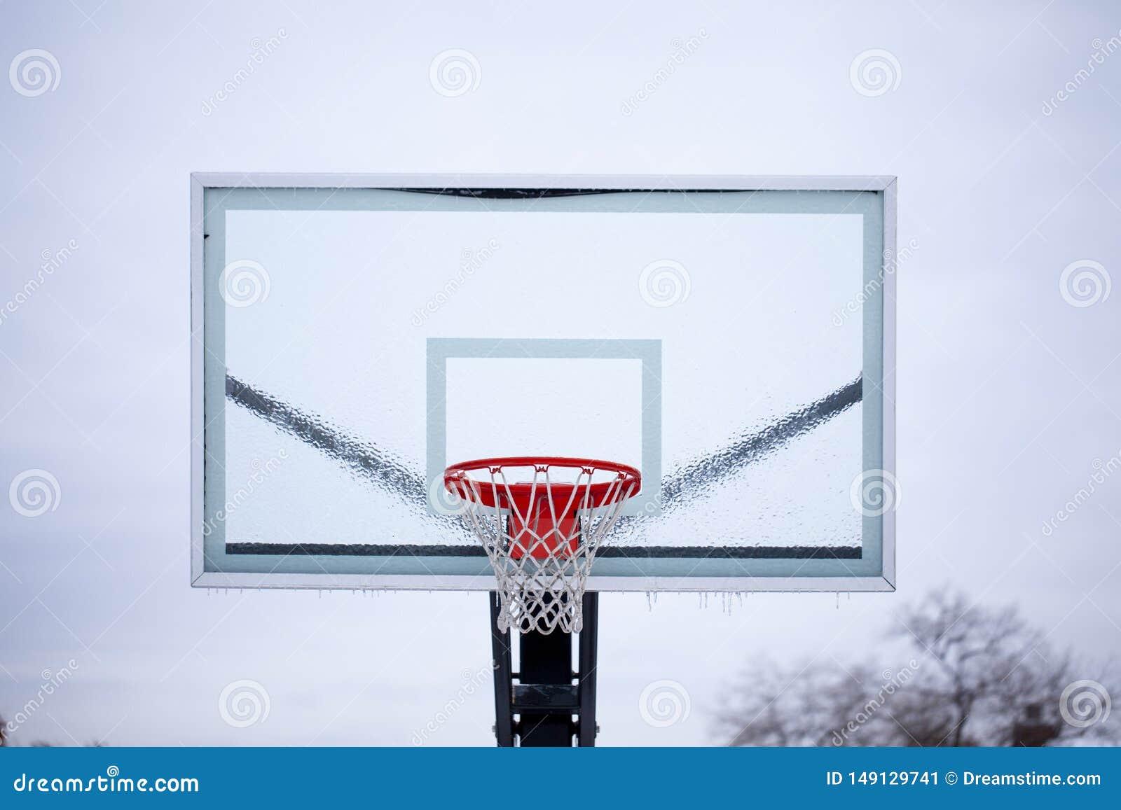 De Rugplank van het ijsbasketbal