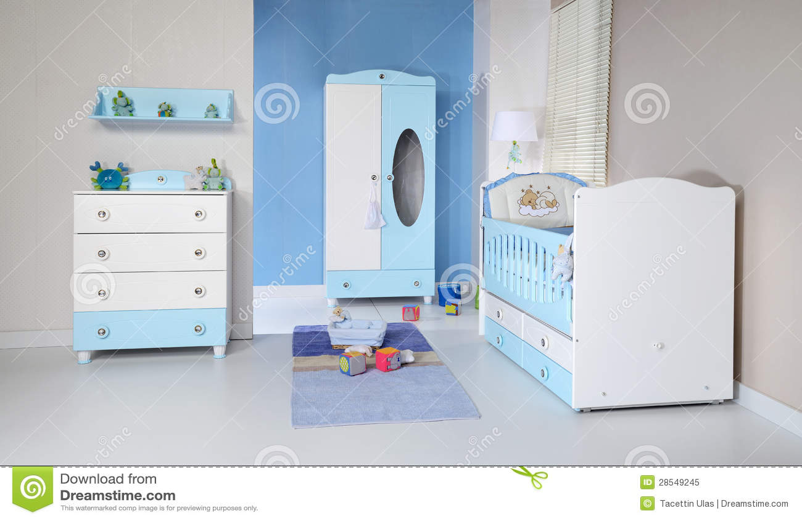 De ruimte van de baby stock afbeelding afbeelding bestaande uit aanbiddelijk 28549245 - Ruimte jongensbaby ...