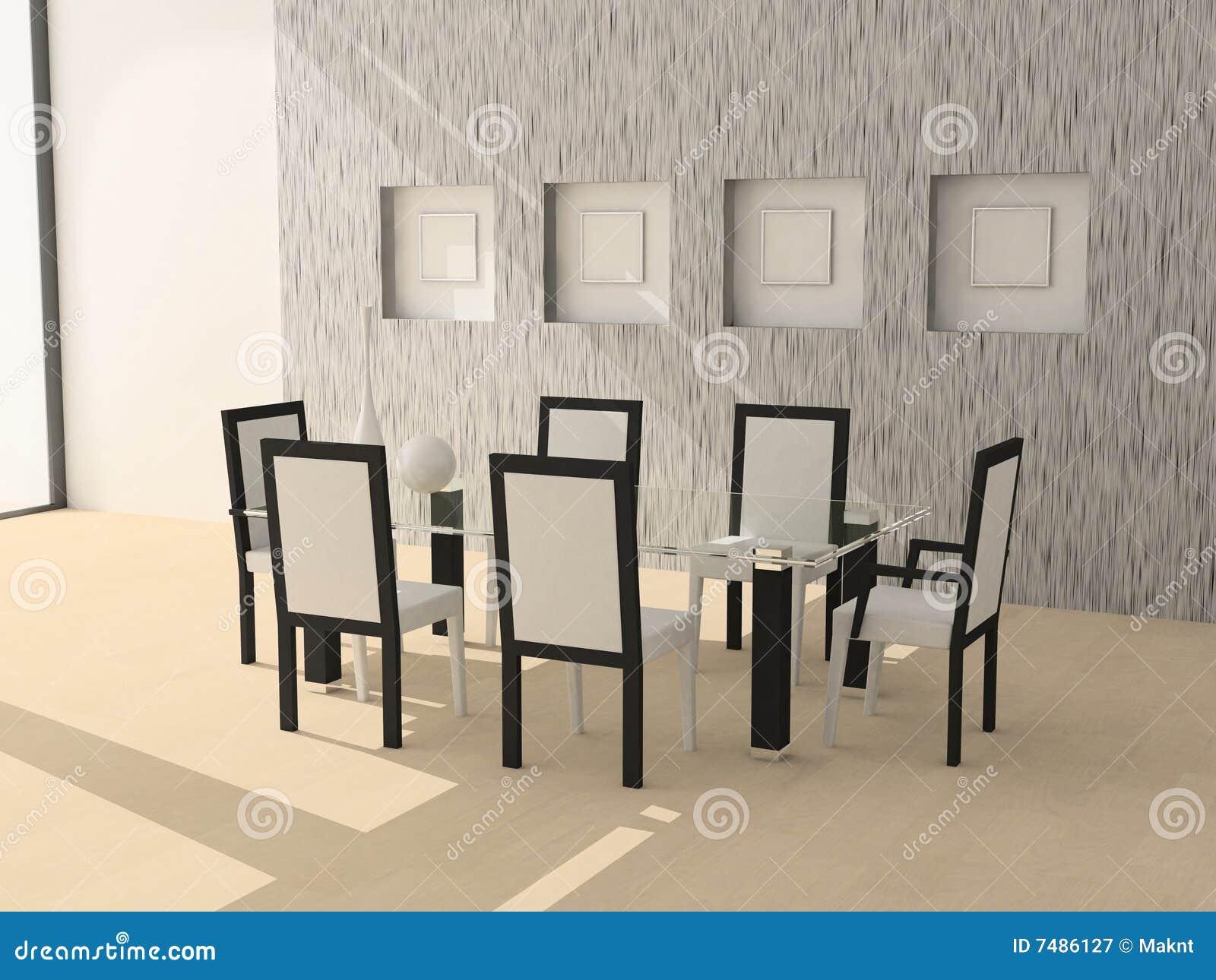 De ruimte van het diner stock illustratie afbeelding bestaande uit patroon 7486127 - Ruimte van het meisje parket ...