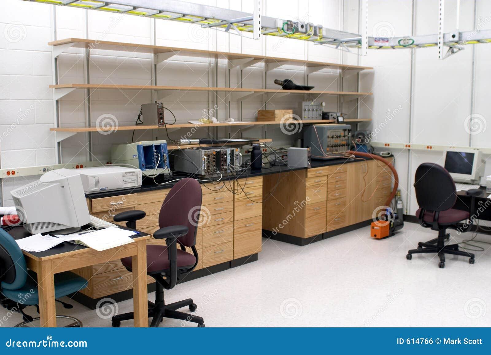 De ruimte van het laboratorium
