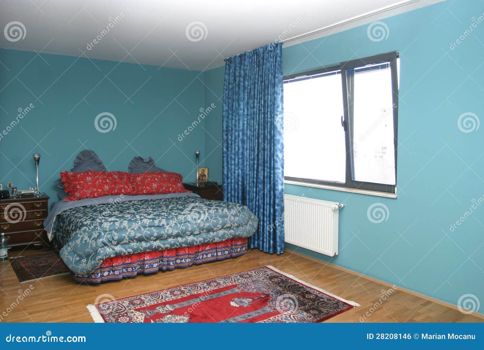 De ruimte van het motel