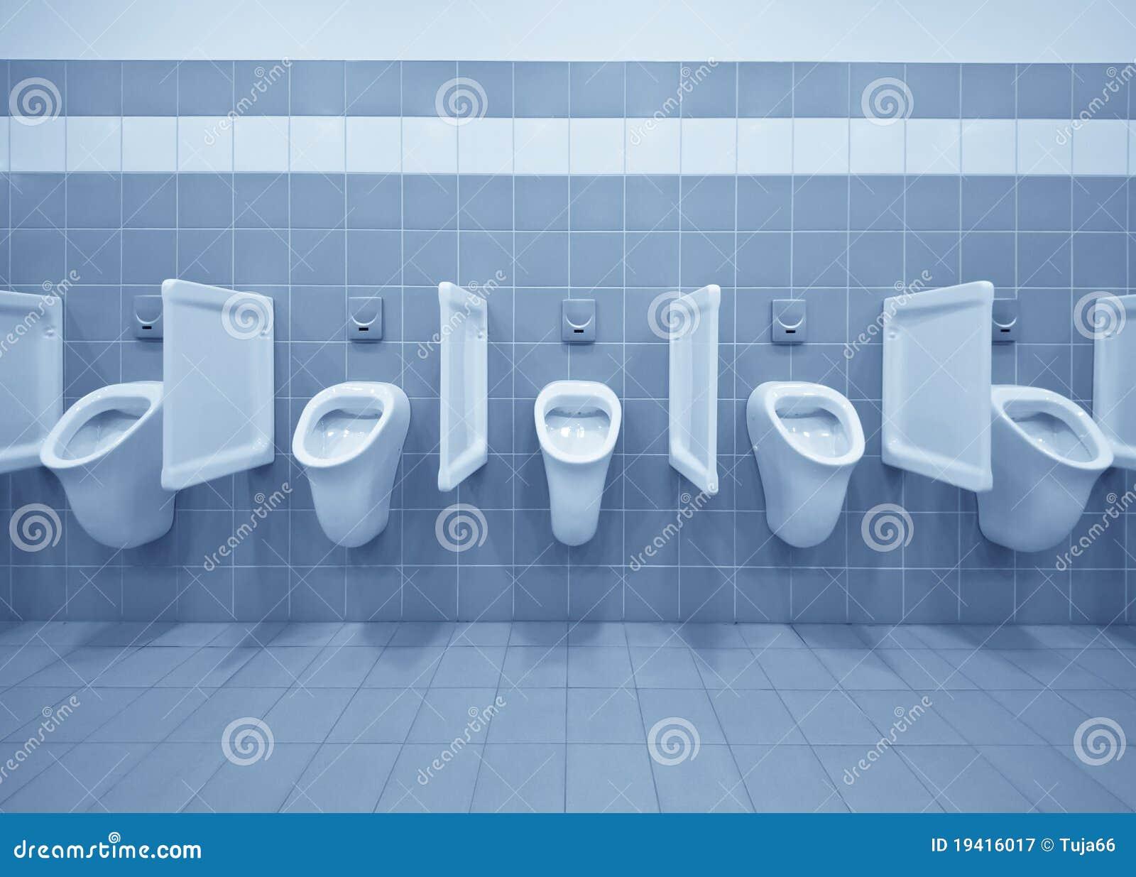 De ruimte van het toilet